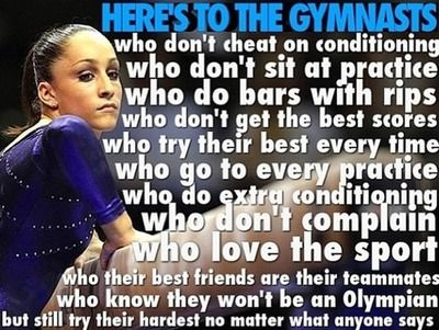 heres to gymnasts